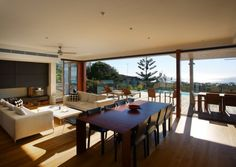 Contemporary Beach Front Residence by Middap Ditchfield Architects | HomeDSGN