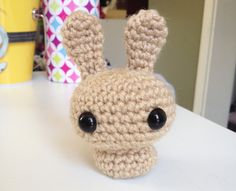 Lately I created a mini series of my crochet animals, and found a way to simplify my bunny pattern so that it would be a perfect project for...