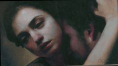 The Catch (Painting: Alone Together, 2012 by MARIA KREYN)