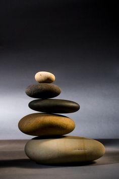 Stones in Zen Balance – popular wall mural Zen Rock, Rock Art, Stone Balancing, Stone Cairns, Rock Sculpture, Family Sculpture, Balance Art, Zen Art, Photo Wallpaper