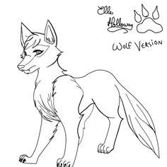 15 Mejores Imagenes De Lobos Para Dibujar Wolf Drawings Paintings