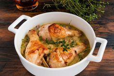 Fokhagymás, mustáros csirkecomb - Recept | Femina Meat Recipes, Healthy Recipes, Turkey, Chicken, Cooking, Food, Poultry, Carrot Vegetable, Mushroom Chicken