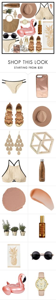 """""""Untitled #423"""" by oliveowl1012 ❤ liked on Polyvore featuring RVCA, Rebecca Minkoff, Calypso Private Label, Irene Neuwirth, Topshop, West Elm, Charlotte Tilbury, Avène, Skultuna and By Terry"""