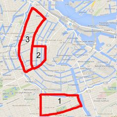 amsterdam where to stay map