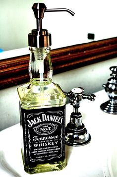 Fancy - Jack Daniel's Soap Dispenser
