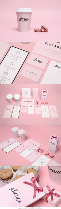 Surup Cafe Branding - Design & Art Direction by Sergey Parfenov