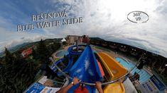 Bešeňová Blue Water Slide 2 360° VR POV Onride Water Slides, Vr, Fair Grounds, Blue, Travel, Viajes, Destinations, Traveling, Trips