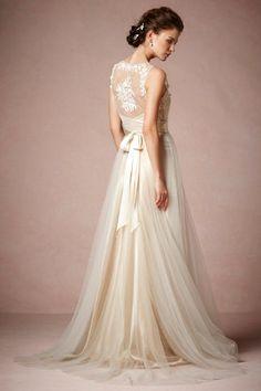 Onyx Gown boho wedding dress