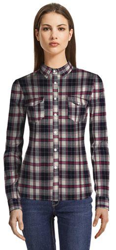 Flannel Shirts, Custom Dresses, Dress Shirts, Collections, Plaid, Tops, Women, Fashion, Gingham