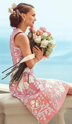Natalie Portman, on set of advertising for Dior 2015