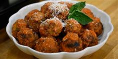 TODAY Top Stories - Michael Symon's ultimate family feast includes fried chicken, meatballs, polenta and more: These meatballs… - View Meatball Recipes, Beef Recipes, Cooking Recipes, Cooking Tips, Beef Meals, Meatloaf Recipes, Sausage Recipes, Chicken Recipes, Pasta Recipes