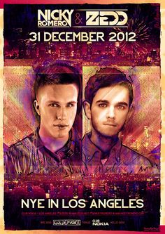 Zedd & Nicky Romero NYE 2013 at Club Nokia Tickets 12-31-12