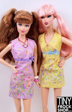 Barbie Botanic Garden Border Print Sheath Dress