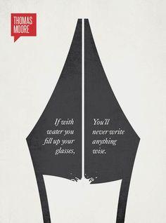 Une jolie série de citations célèbres transformées en posters minimalistes par le graphic designer Ryan McArthur, de Oscar Wilde à Thomas Edison en passant