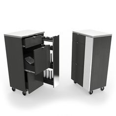Spice Mobile Salon Cart by VEECO - SP-2418-08 at ProHairTools.com
