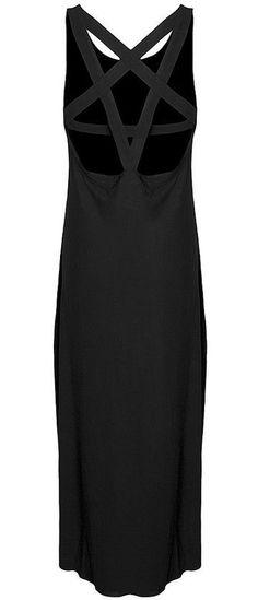 pentagram maxi dress <3