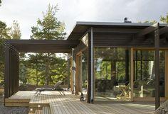 Villa Fåglarö by Jordens Arkitekter - Architecture - Private housing
