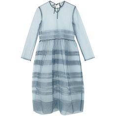 ドレス ❤ liked on Polyvore featuring dresses and blue dress