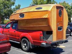 The Flying Tortoise: Simple And Delightful Tiny Homes On The Back Of Small Pick-Up Trucks...
