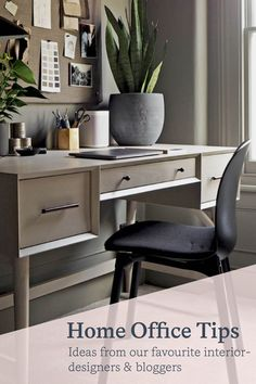 With a few simple ideas, it's easy to inject some personality into your personal home office, whilst maintaining a productive workspace, when working from home. Large Bookshelves, Colour Consultant, Mesh Chair, Adjustable Height Desk, Home Office Chairs, Workspace Design, Colorful Furniture, Wood Texture, Office Ideas