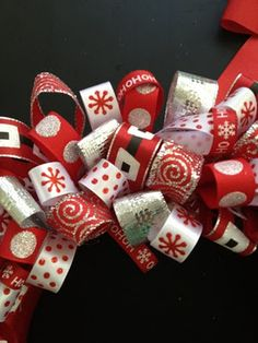 Sarah, I'm going to do these for next year.....get my ribbon really cheap after Christmas