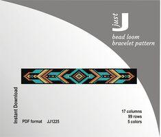 Bead loom pattern loom bracelet pattern bracelet DIY