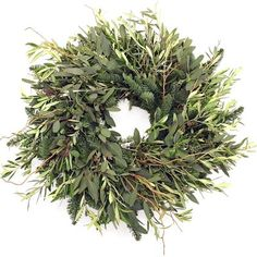 Wild Olive Wreath - this is gorgeous, but expensive, and according to the reviews, not worth it.  Pity.
