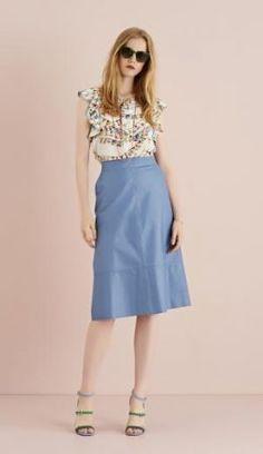 ottodame 6 Luxury Fashion, Womens Fashion, Ss16, Midi Skirt, High Waisted Skirt, Skirts, Outfit, Woman Style, Shopping