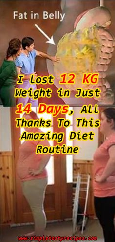 I lost 12 KG Weight in Just 14 Days All Thanks To This Amazing Diet Routine