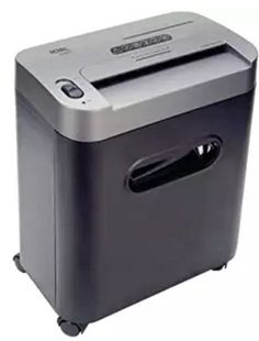 Here is an crosscut shredder from Royal. It will shreds up to 12 sheets per pass with a crosscut pattern and will shreds CDS and DVDS. It has a pull-out bin and an auto start and stop. Pull Out Bin, Paper Shredder, Shredded Paper, Office Equipment, Paper Cutting, Cut Paper, Home Depot, Console, Ebay
