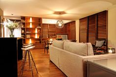 Interior design of a private residence in Mexico City.