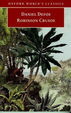 Daniel Defoe: Robinson Crusoe Reader Submission: Title and Redesign by Dan Burkhead See the original Better Book Title here Robinson Crusoe, Good Books, Books To Read, My Books, Swiss Family Robinson, Roman, Daniel Defoe, Better Books, Journals
