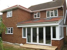 Extension and refurb 1930s House Extension, Conservatory Extension, Extension Plans, House Extension Design, Glass Extension, Rear Extension, House Design, Open Plan Kitchen Diner, Kitchen Diner Extension