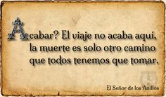 #Frases en El Señor de los Anillos - #Libros de #Fantasía - J.R.R. Tolkien