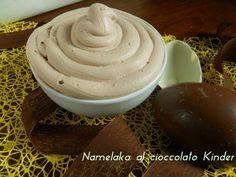 Namelaka al cioccolato kinder Conoscete la Namelaka? Noooooo... Allora correte a leggere la ricetta e soprattutto a realizzarla. Vi conqu