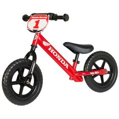 "12"" STRIDER CUSTOM HONDA BALANCE BIKE"