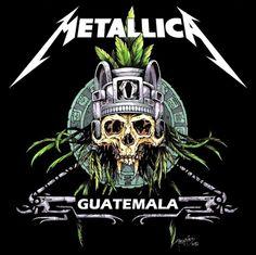 Metallica in Guatemala by icarosteel on @DeviantArt