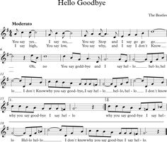 Hello Goodbye. The Beatles