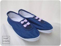 Spécial Rentrée : chaussons maternelle customisés