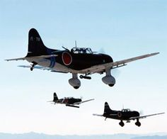 Aichi D3A - Japanese carrier-based bomber of WW2 - World War 2 Planes