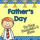 $ Celebrate Father's Day with these no prep printables!!!  Included in this packet: vocab anchor chart in color word wall/read the room/vocab cards v...