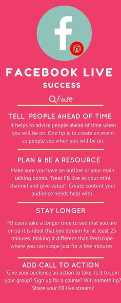 Have you tried Facebook Live stream yet? Need FB live tips? read on through for tips with FB Marketing Logo, Inbound Marketing, Marketing Mail, Marketing En Internet, Facebook Marketing Strategy, Digital Marketing Strategy, Business Marketing, Content Marketing, Affiliate Marketing
