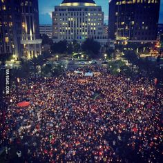 When your city is attacked, you don't sit down. You rise up. This is Orlando tonight.