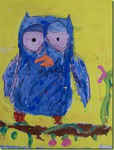 1st grade owls