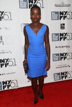 Lupita Nyong'o at premiere of 12 Years a Slave, 2013