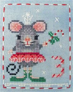 Mary Mouse is finally here! #3 in the Brooke's Books Advent Animal Freebies Collection by Brooke Nolan. Find the chart on my Freebies 2 page here: http://www.brookesbookspublishing.com/CrossStitchFreebies2.html or in my Craftsy store here: http://www.craftsy.com/user/1333992/pattern-store?_ct=fhevybu-ikrdql-fqjjuhdijehu . Happy Stitching, Everyone!