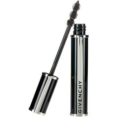 GIVENCHY Black Satin Noir Couture 4-in-1 Mascara ($22) ❤ liked on Polyvore featuring beauty products, makeup, eye makeup, mascara, beauty, eyes, 35. eye makeup., givenchy, givenchy mascara and lengthening mascara