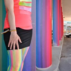#Sateenkaarivärit Ruoholahdessa #Rainbow Colours and the #Ruoholahti #Bridge #Adidas
