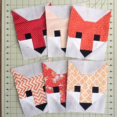 Quilty Love | Foxy Loxy | http://www.quiltylove.com