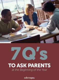 These 7 questions to ask parents at the beginning of the school year that will help to get to know them, and their child, better.
